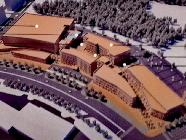 Начался первый этап строительства аквапарка на северо-западе Челябинска