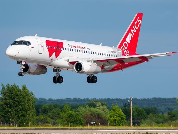 Red Wings открывает новые направления из Челябинска в мае