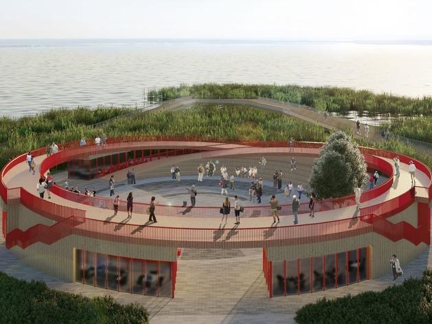 На набережной озера Смолино планируют построить концертную площадку