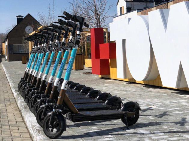 В Сосновском районе начал работу первый пункт кикшеринга – проката электросамокатов
