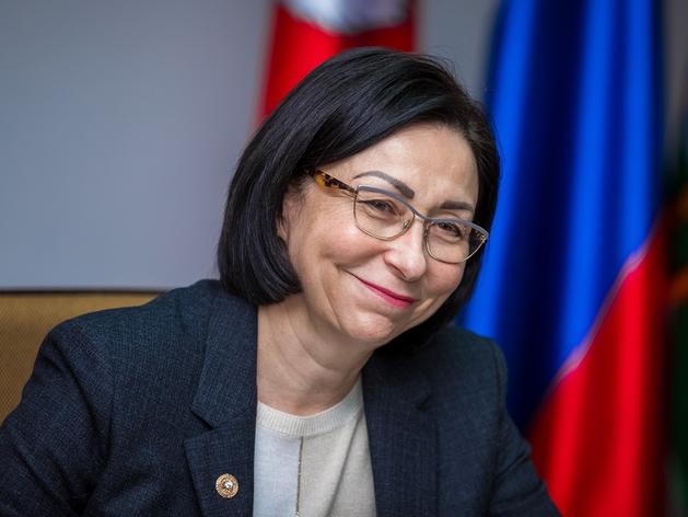 Наталья Котова снова вошла в тройку лидеров медиарейтинга по УрФО