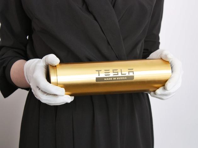 Илону Маску подарят золотую капсулу времени в честь появления завода Tesla в России