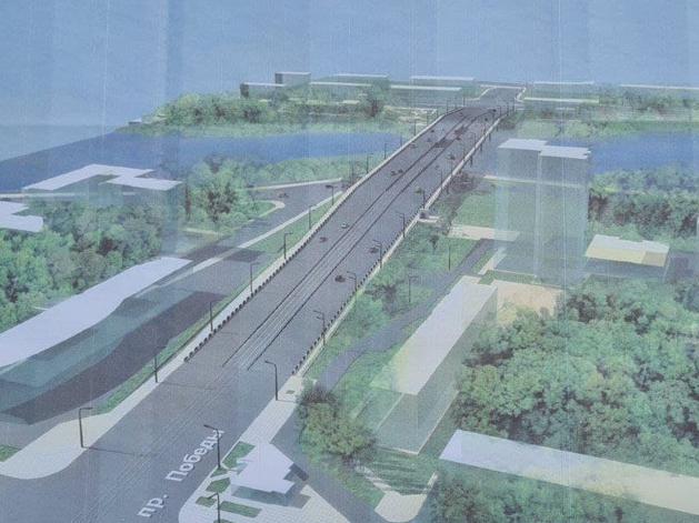 Шесть полос и выделенка для трамвая: опубликованы эскизы обновленного Ленинградского моста