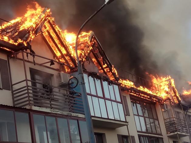 Пожар в «Залесье»: МЧС ищет виноватых, Сосновская администрация подсчитывает ущерб