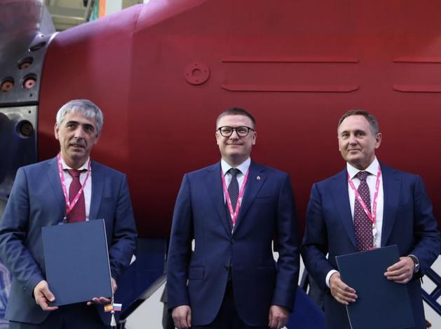 Алексей Текслер заключил соглашение с ПГ «Конар» и ПАО «НОВАТЭК»