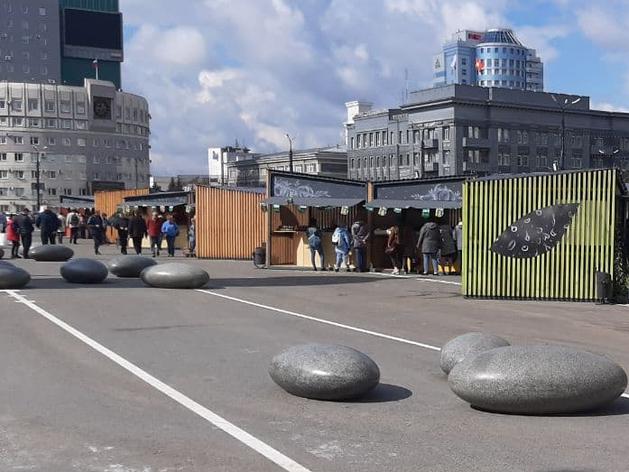 В Челябинске отказались от идеи устраивать ярмарку на площади Революции
