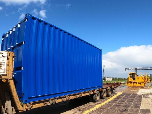 На ЧТЗ собираются выпускать морские контейнеры — по 10 тысяч штук в год