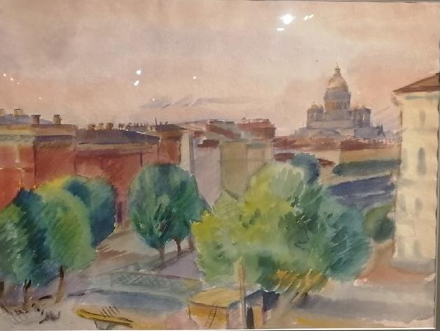 Несоветский облик советского Ленинграда: в Челябинске открыли выставку невских пейзажей