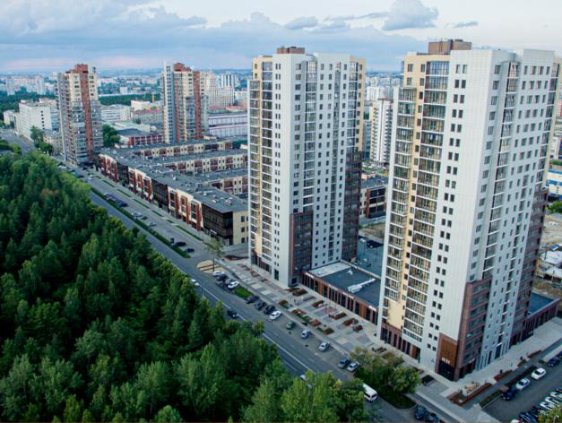 ВТБ профинансировал строительство двух жилых домов в Челябинске