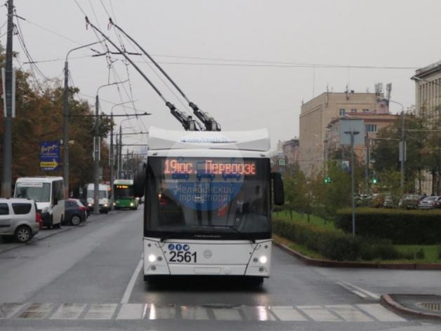 «Синара» вывела в Челябинске на линию первый троллейбус с автономным ходом