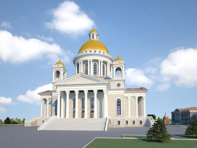 Мэрия выделила 95 млн руб. на благоустройство возле челябинского кафедрального собора